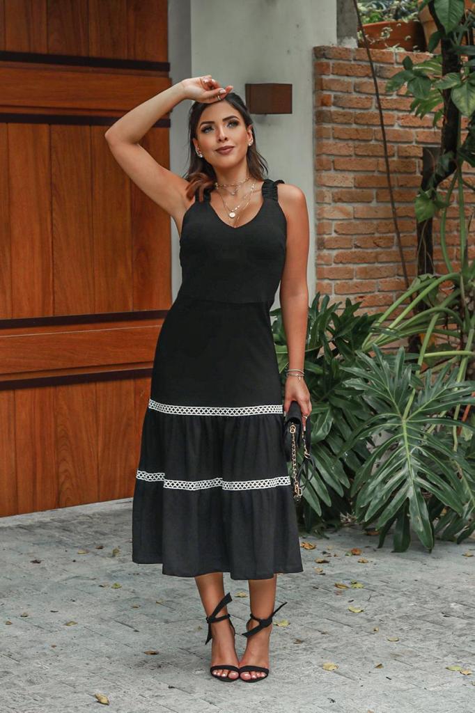 Vestido Mídi V.L.L2