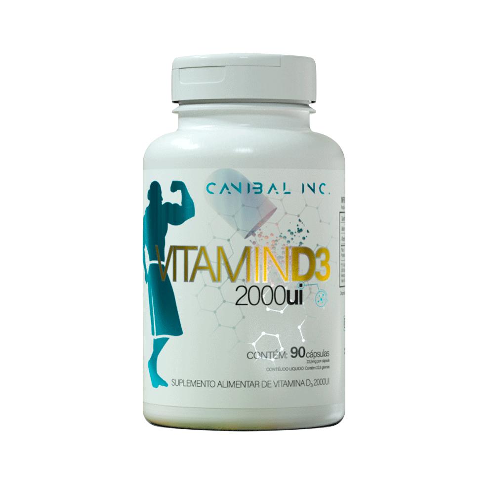 Vitamina D3 2000ui - 90 Cap