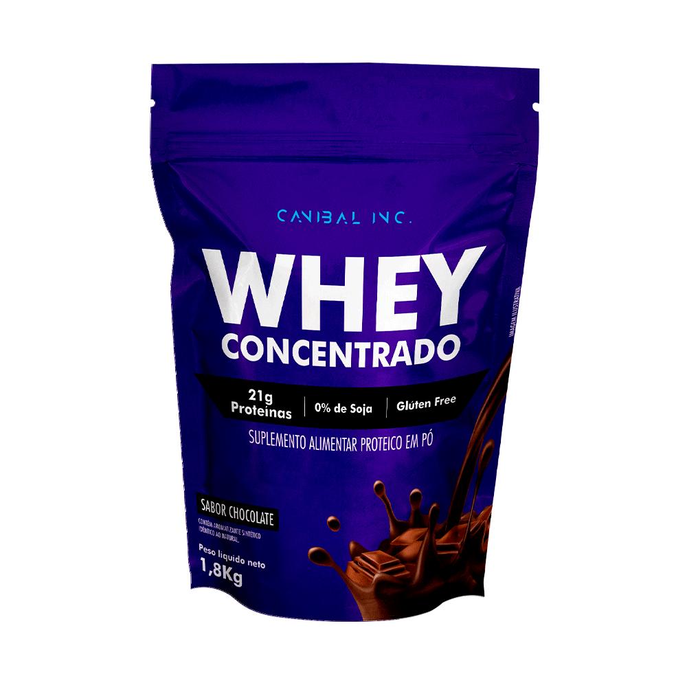 Whey Protein 100% 1,8kg - Sabor Chocolate