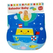 BABADOR BABY IMPERMEÁVEL ATÓXICO BARCO