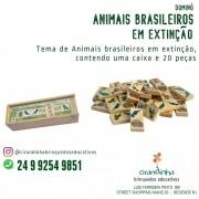 DOMINÓ ANIMAIS BRASILEIROS EM EXTINÇÃO
