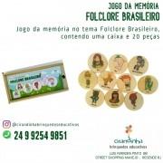 JOGO DA MEMÓRIA FOLCLORE BRASILEIRO