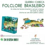 QUEBRA CABEÇA FOLCLORE BRASILEIRO