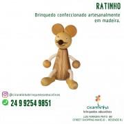 RATINHO EM MADEIRA