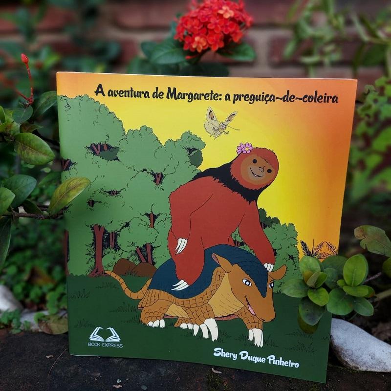 A AVENTURA DE MARGARETE: A PREGUIÇA-DE-COLEIRA
