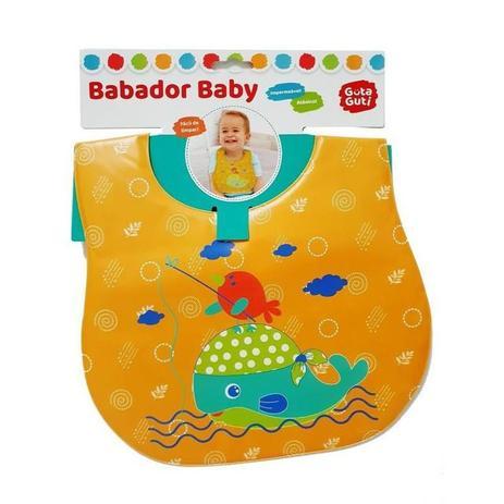 BABADOR BABY IMPERMEÁVEL ATÓXICO BALEIA