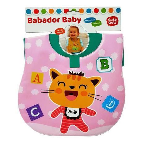 BABADOR BABY IMPERMEÁVEL ATÓXICO GATINHA