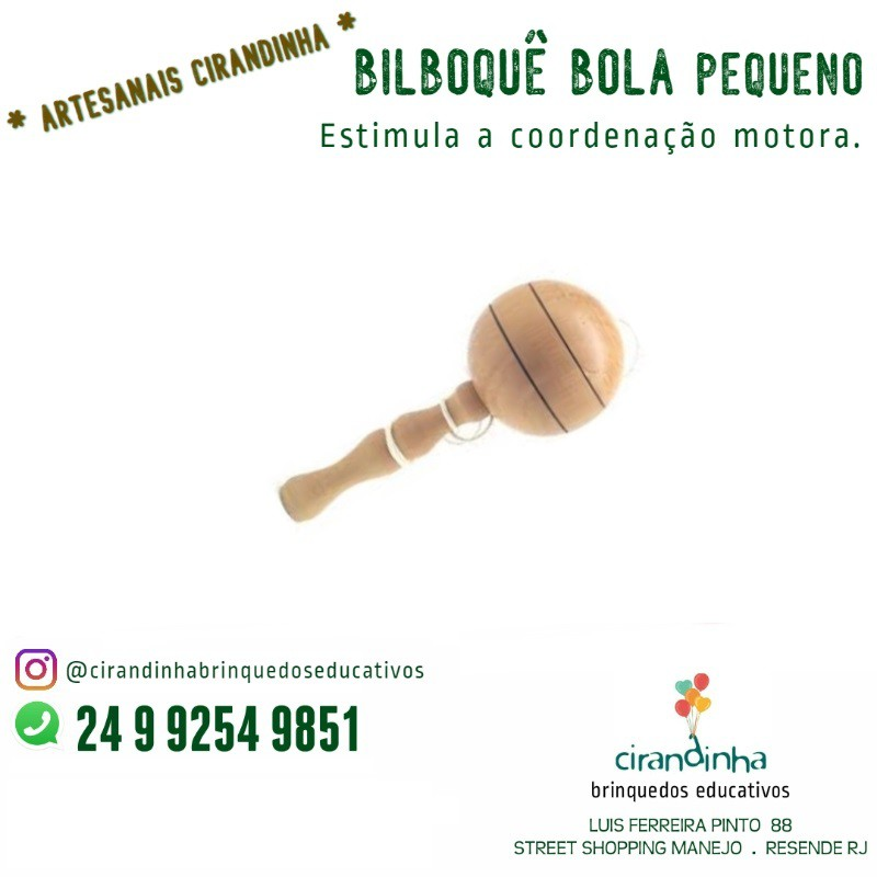 BILBOQUÊ BOLA P