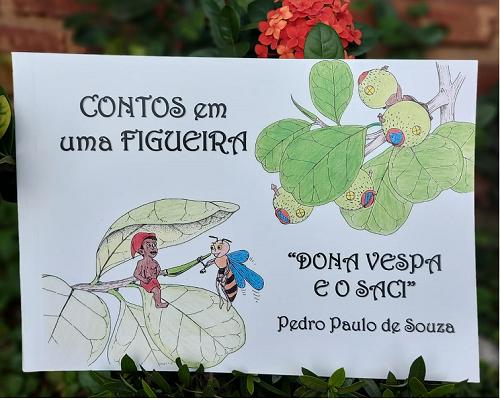 """CONTOS EM UMA FIGUEIRA """"DONA VESPA E O SACI"""""""