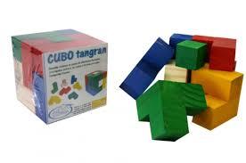 CUBO TANGRAM TRIDIMENSIONAL