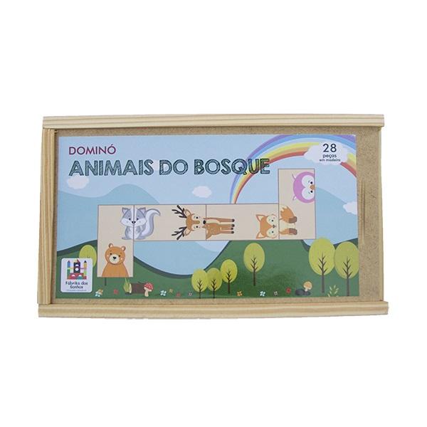 DOMINÓ - ANIMAIS DO BOSQUE