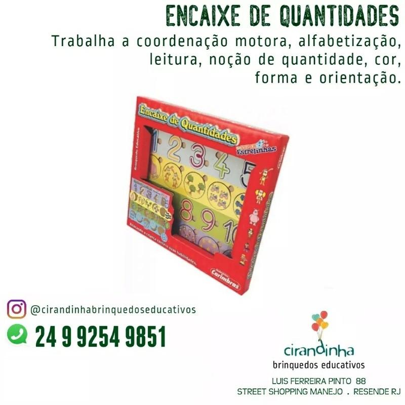 ENCAIXE DE QUANTIDADES