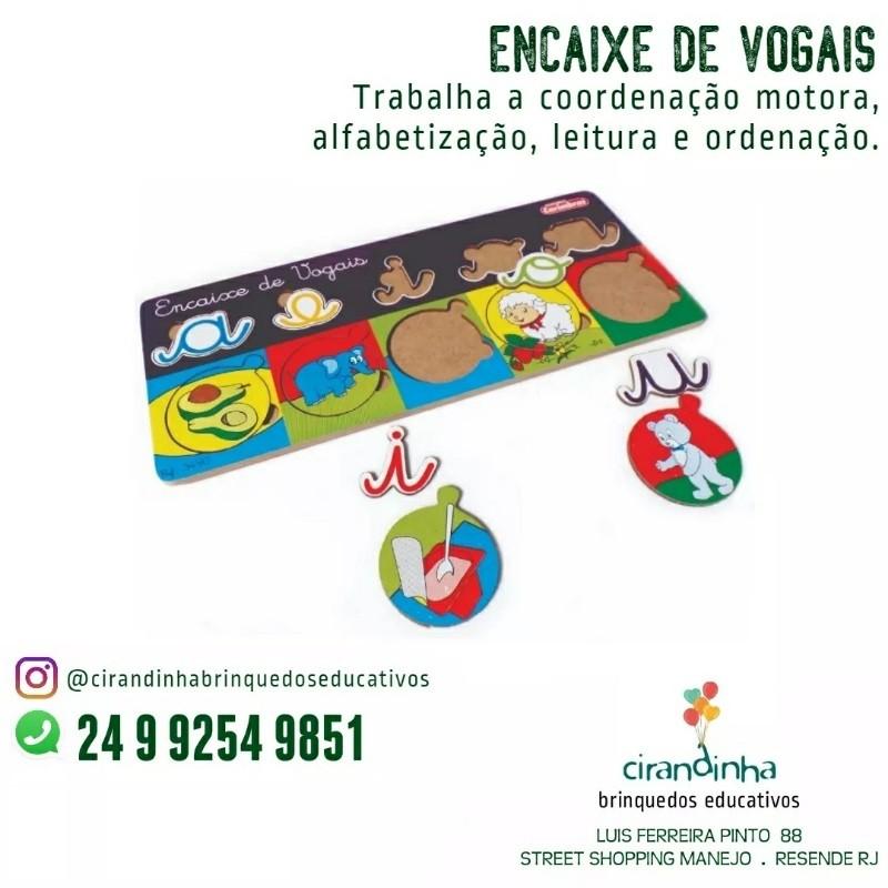 ENCAIXE DE VOGAIS