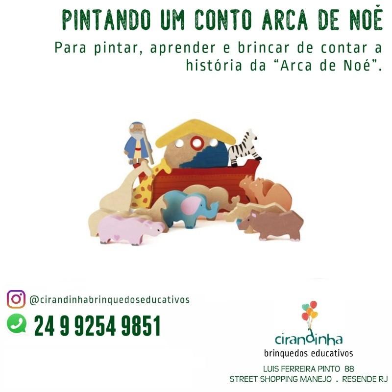 PINTANDO UM CONTO ARCA DE NOÉ