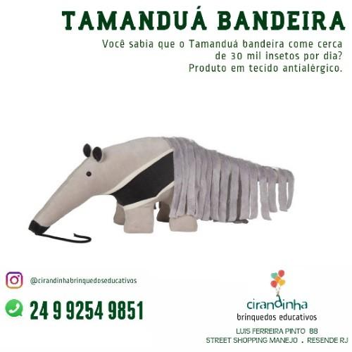 TAMANDUÁ BANDEIRA P
