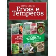 Coleção Ervas e Termperos: Conheça e Cultive - 2 Volumes