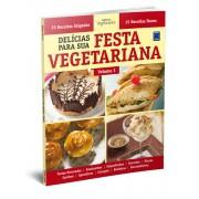 Livro - Delícias Para Sua Festa Vegetariana - Volume 3
