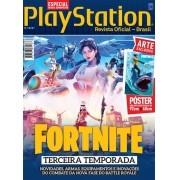 Revista Superpôster PlayStation - Fortnite Terceira Temporada (Sem dobras)
