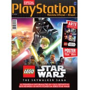 Revista Superpôster PlayStation - Lego Star Wars: The Skywalker Saga
