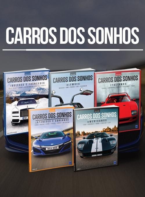 Coleção Carros dos Sonhos - 5 Volumes