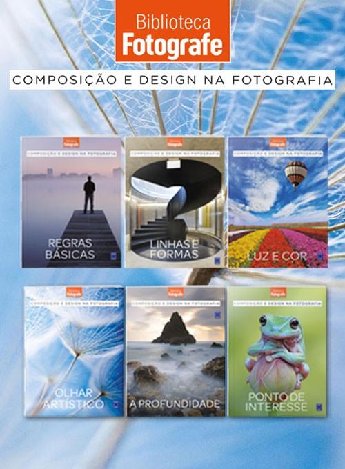 Coleção Composição e Design na Fotografia - 6 Livros