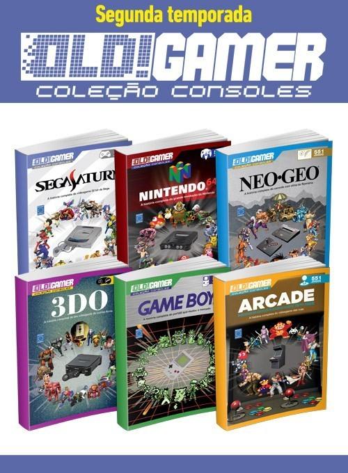 Coleção Dossiê OLD!Gamer - Segunda Temporada (6 volumes)