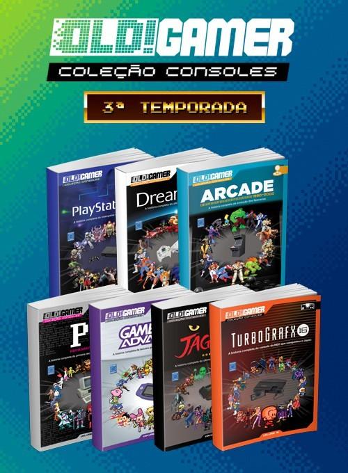 Coleção Dossiê Old!Gamer - Terceira Temporada (7 livros)