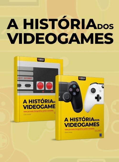 Coleção História dos Videogames - 2 Volumes