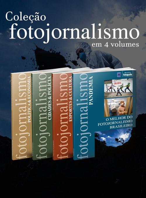 Coleção O Melhor do Fotojornalismo Brasileiro - 4 Volumes