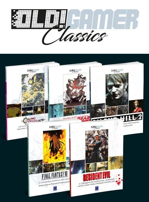 Coleção OLD!Gamer Classics - 5 Livros