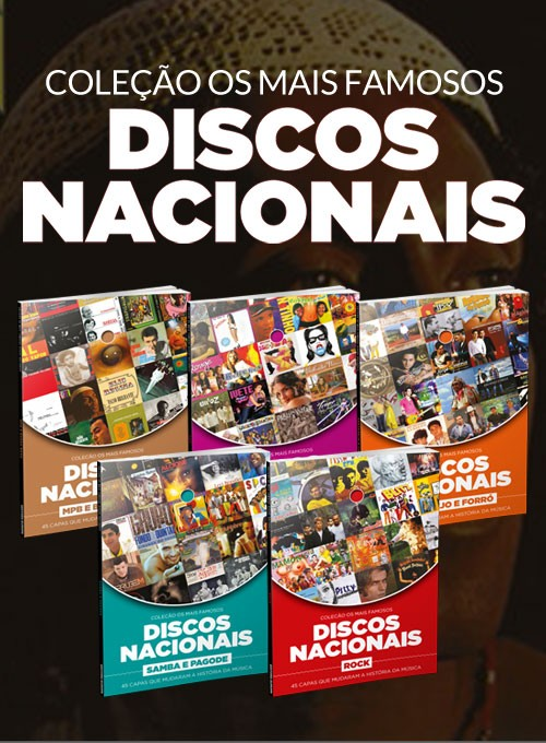Coleção Os Mais Famosos Discos Nacionais - 5 Volumes
