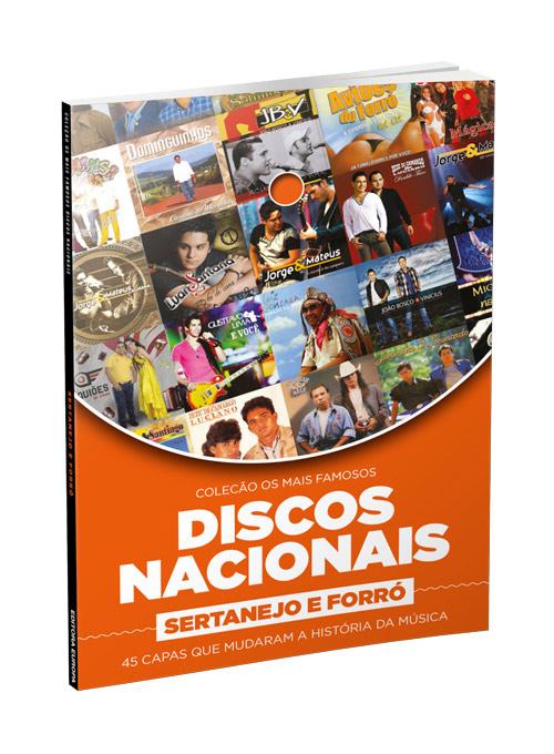Coleção Os Mais Famosos Discos Nacionais: Sertanejo e Forró