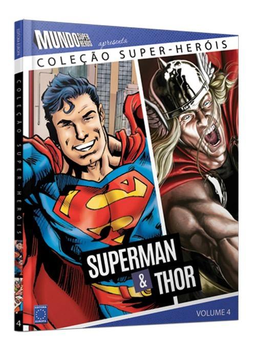 Coleção Super-Heróis Volume 4: Superman e Thor