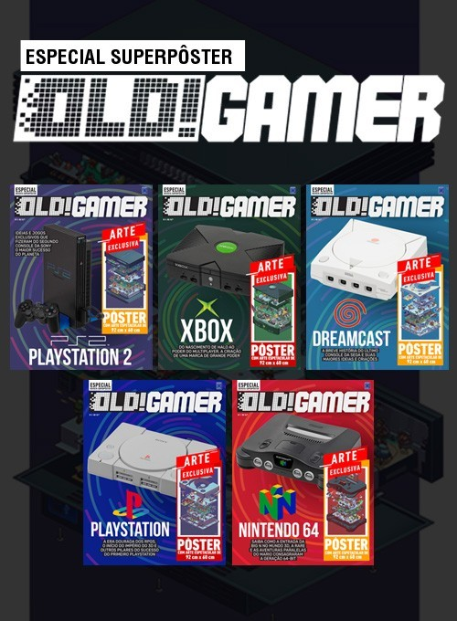 Coleção Superpôster OLD!Gamer - 5 Pôsteres