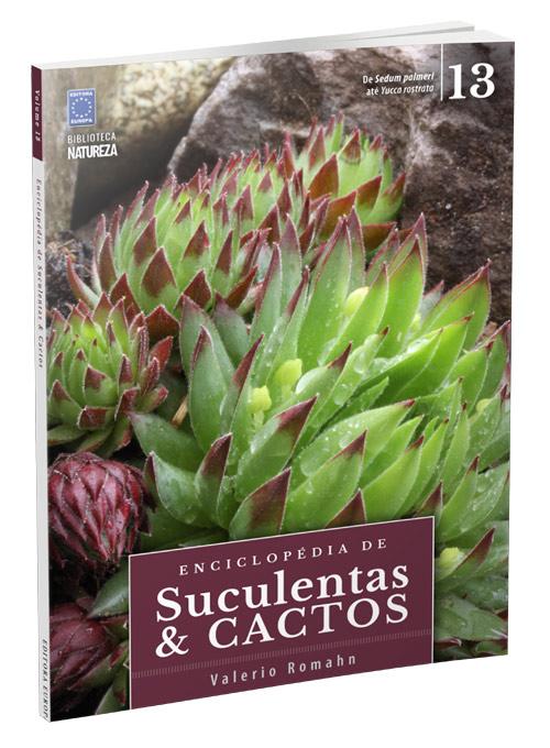 Enciclopédia de Suculentas & Cactos - 13 Volumes