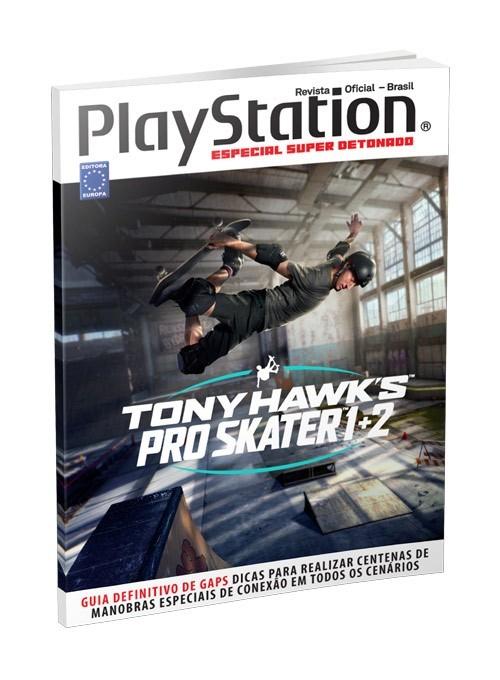 Especial Super Detonato PlayStation - Tony Hawks Pro Skater 1+2