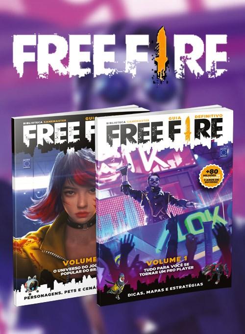 Guia Definitivo Free Fire - 2 Volumes