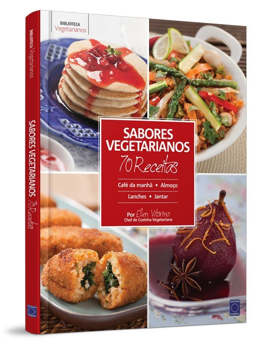 Livro - Sabores Vegetarianos 70 Receitas