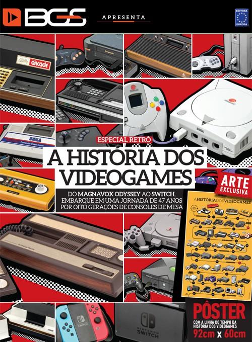 Revista Superpôster - A História dos Videogames (Sem dobras)