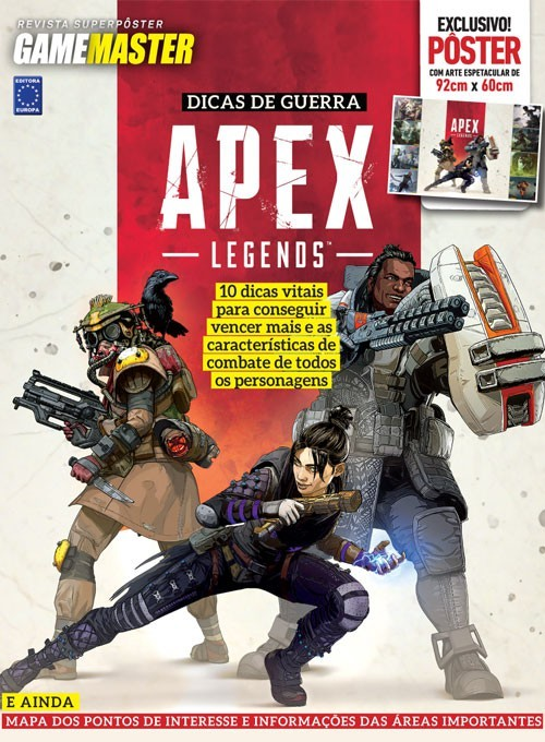 Revista Superpôster - Apex Legends (Sem Dobras)