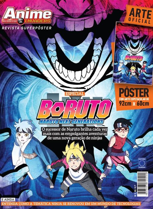 Revista Superpôster - Boruto