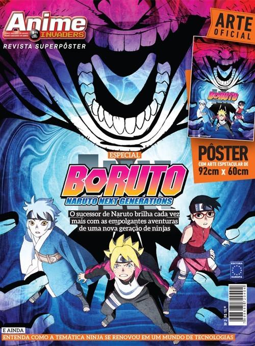 Revista Superpôster - Boruto (Sem dobras)