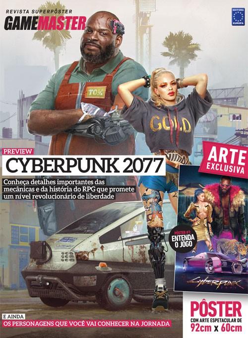 Revista Superpôster - Cyberpunk 2077 #1 (Sem dobras)