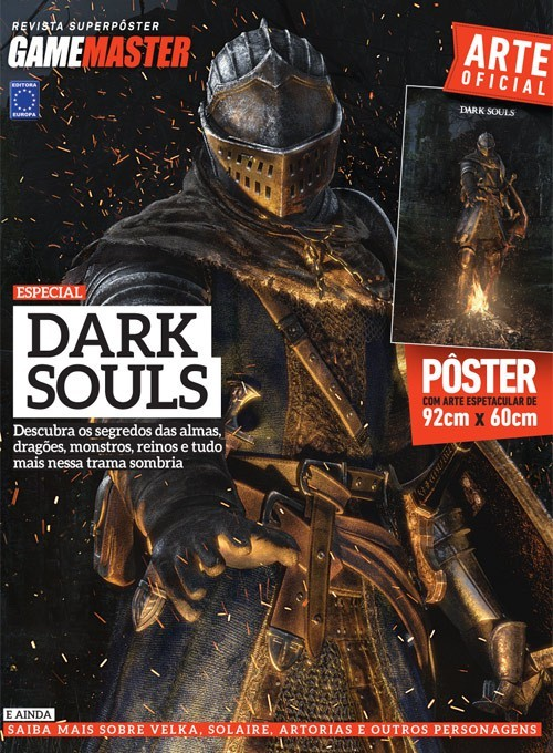 Revista Superpôster - Dark Souls (Sem dobra)