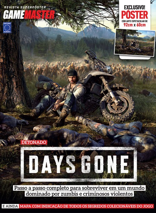 Revista Superpôster - Days Gone