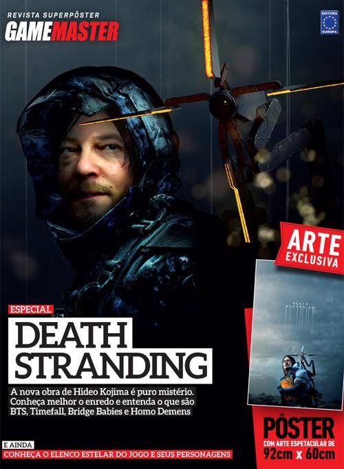 Revista Superpôster - Death Stranding (Sem dobras)