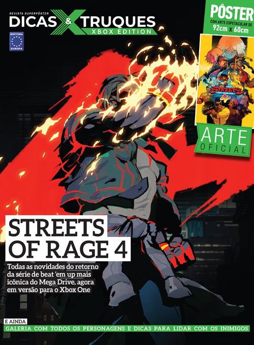 Revista Superpôster Dicas e Truques Xbox Edition Edição 2 - Street Of Rage 4
