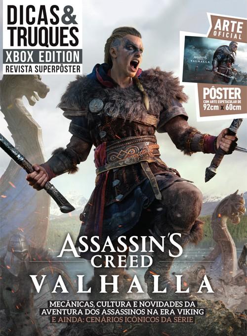 Revista Superpôster Dicas e Truques Xbox Edition Edição 7 - Assassins Creed Valhalla