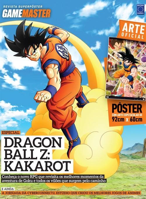Revista Superpôster - Dragon Ball Z: Kakarot (Sem dobras)