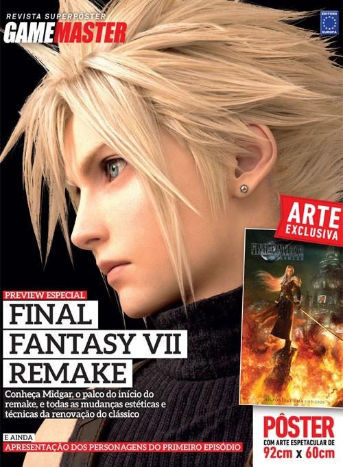 Revista Superpôster - Final Fantasy VII Remake (Sem dobras)